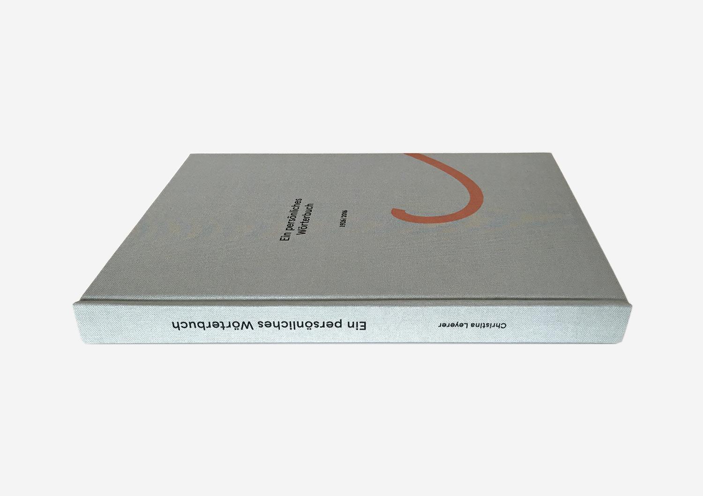 Ein persönliches Wörterbuch, Christina Leyerer
